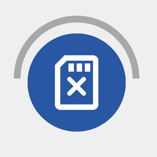 Remove cards symbol